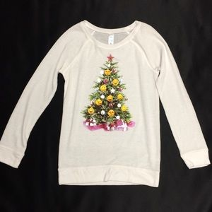 Justice Emoji Raglan Sweatshirt Girls Size 10